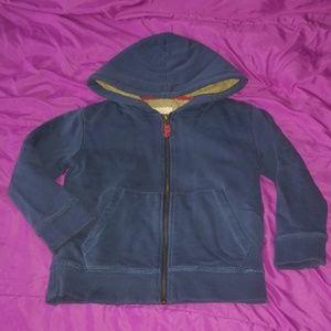 Mini Boden zip up hoodie, 5-6 Y